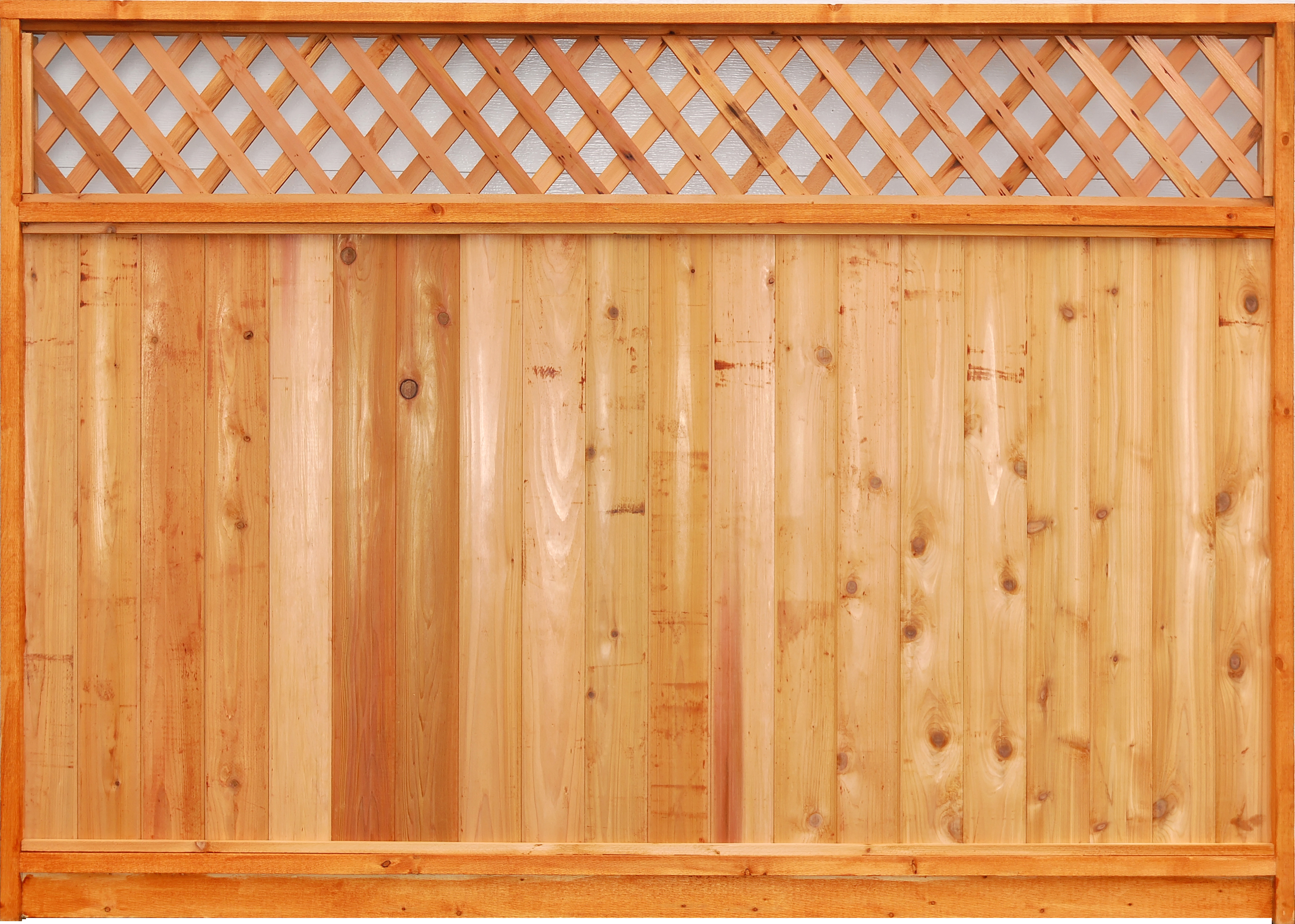 Superb img of Aim Cedar Works Ltd. Quality Fence Panels Decks and Renovations with #C36E08 color and 3235x2309 pixels